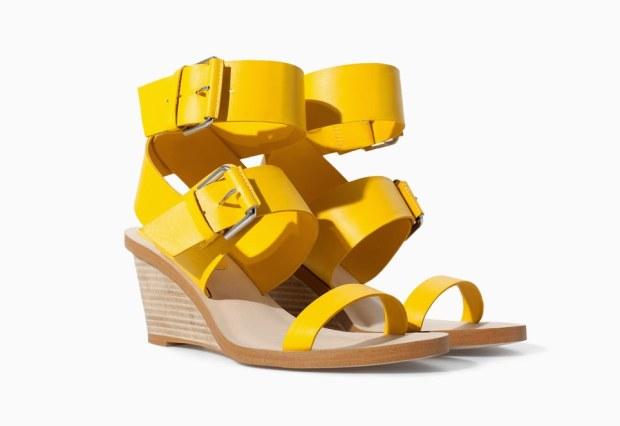 Zara scarpe estate 2014