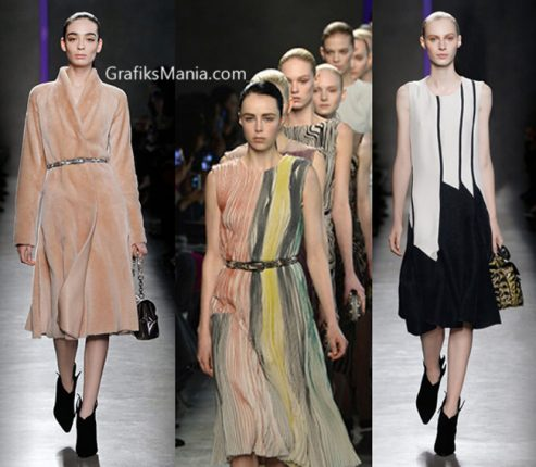 Abbigliamento Bottega Veneta autunno inverno 2014 2015.