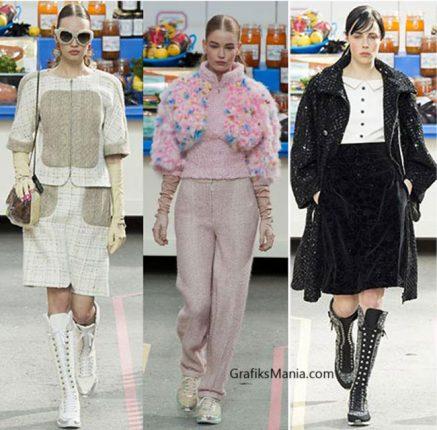 Abbigliamento Chanel autunno inverno 2014 2015.