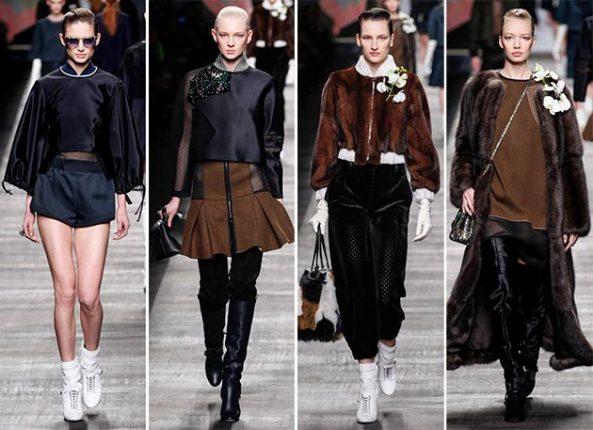 Abbigliamento Fendi autunno inverno 2014 2015