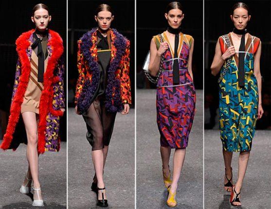 Abbigliamento Prada autunno inverno 2014 2015