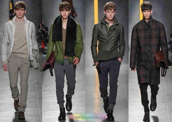 Bottega Veneta autunno inverno 2014 2015 abbigliamento uomo