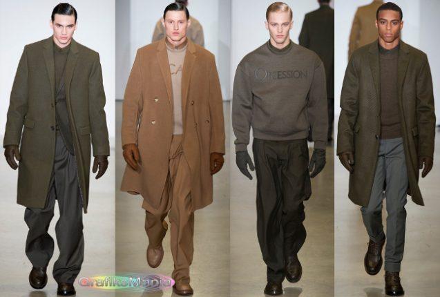 Calvin Klein autunno inverno 2014 2015 abbigliamento uomo