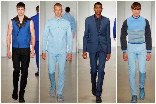 Calvin Klein primavera estate 2014 abbigliamento uomo