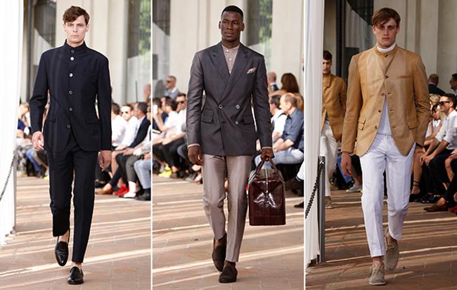 Corneliani  primavera estate 2014 abbigliamento uomo