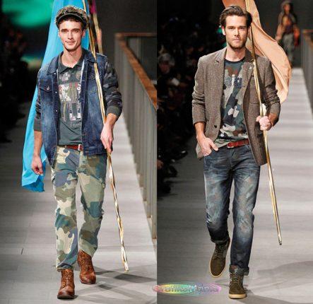 Desigual autunno inverno 2014 2015 abbigliamento uomo