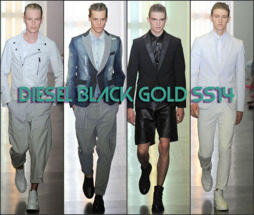 Diesel Black Gold primavera estate 2014 abbigliamento uomo