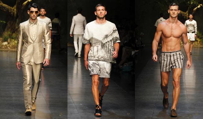 Dolce  Gabbana primavera estate 2014 uomo