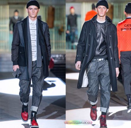 Dsquared2 autunno inverno 2014 2015 cappotti