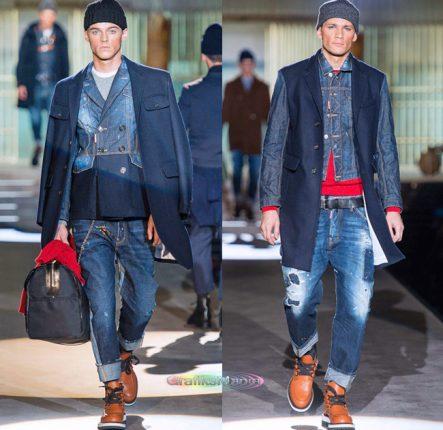 Dsquared2 autunno inverno 2014 2015 moda