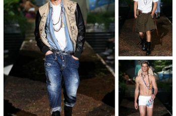 Dsquared2 primavera estate 2014 abbigliamento uomo