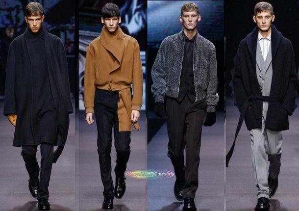Ermenegildo Zegna autunno inverno 2014 2015 abbigliamento uomo