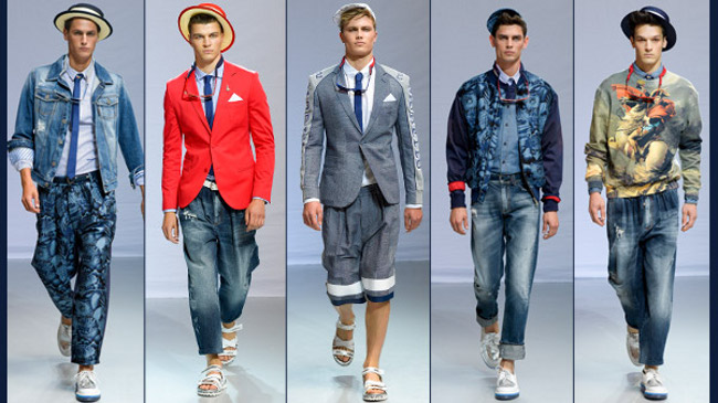Etro primavera estate 2014 abbigliamento uomo