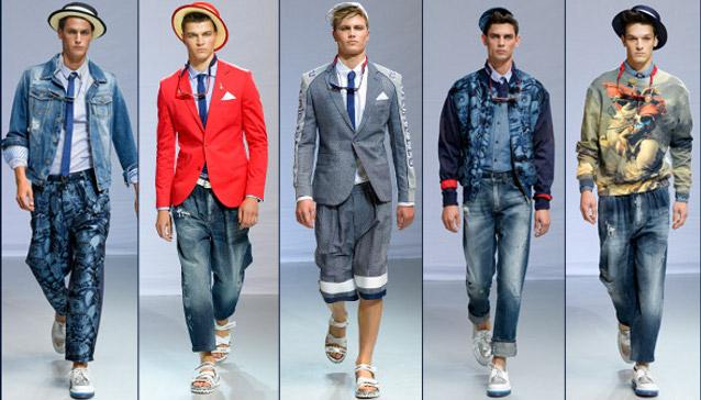 Frankie Morello primavera estate 2014 abbigliamento uomo