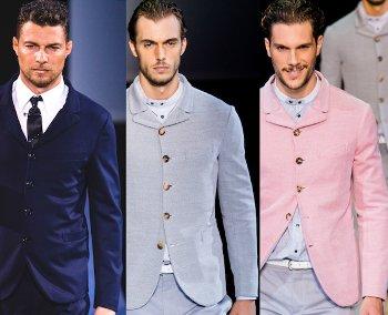 Giorgio Armani primavera estate 2014 abbigliamento uomo