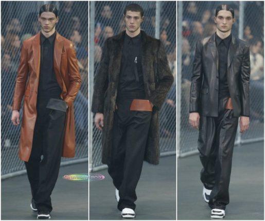 Givenchy autunno inverno 2014 2015 abbigliamento uomo