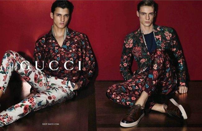 Gucci primavera estate 2014 abbigliamento uomo