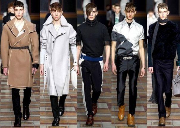 Lanvin autunno inverno 2014 2015 abbigliamento uomo
