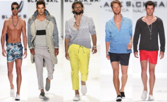 Nautica  primavera estate 2014 abbigliamento uomo
