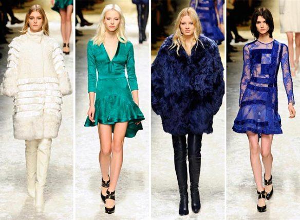Pantaloni e giacche Blumarine autunno inverno 2014 2015