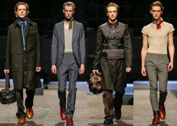 Prada autunno inverno 2014 2015 abbigliamento uomo