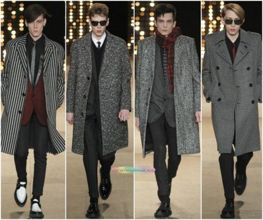 Saint Laurent autunno inverno 2014 2015 abbigliamento uomo