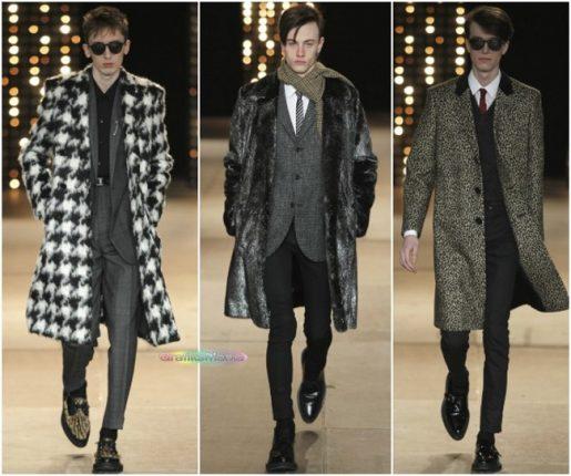 Saint Laurent cappotti uomo
