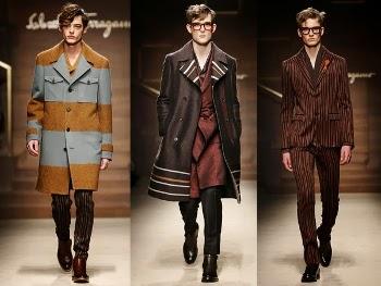 Salvatore Ferragamo collezione uomo autunno inverno 2014 2015