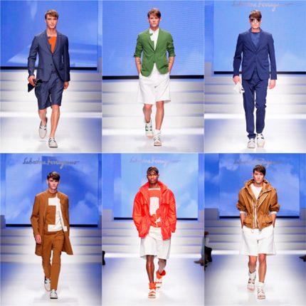 Salvatore Ferragamo primavera estate 2014 abbigliamento uomo