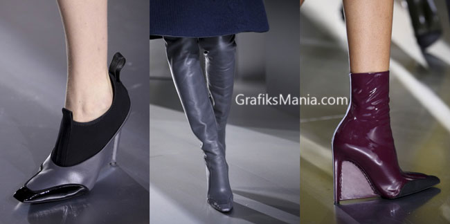 Scarpe Balenciaga autunno inverno 2014 2015 donna.