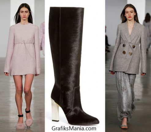 Scarpe Calvin Klein autunno inverno 2014 2015 donna