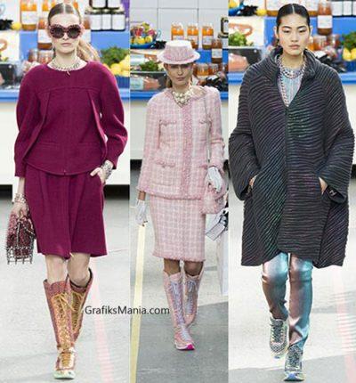 Scarpe Chanel autunno inverno 2014 2015 donna.