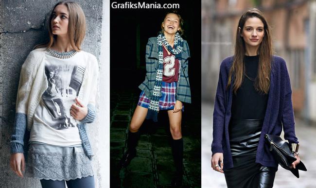 Abbigliamento Benetton autunno inverno 2014 2015