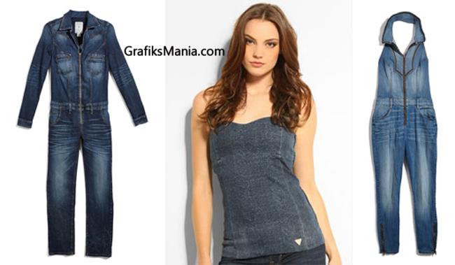 Abbigliamento Denim  Guess autunno inverno 2014 2015