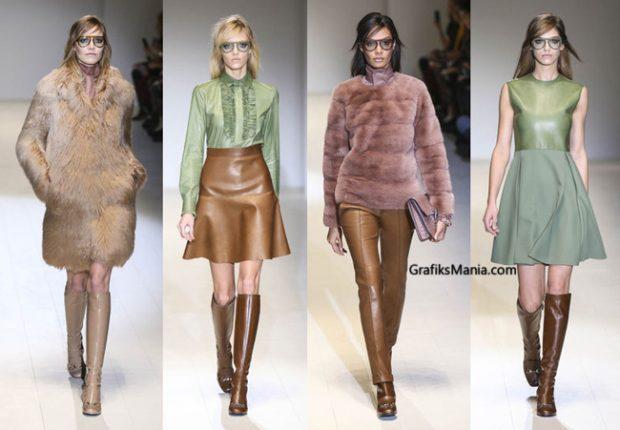 Abbigliamento Gucci autunno inverno 2014 2015