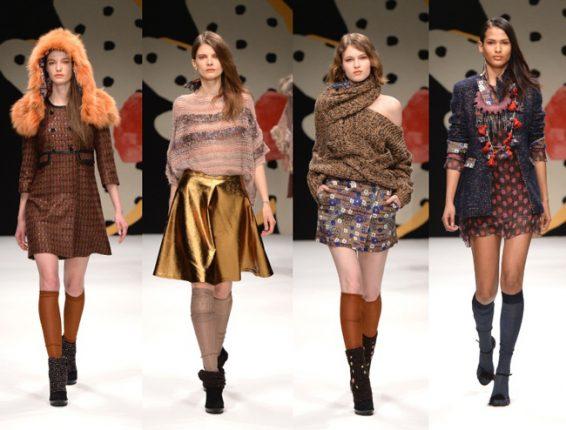 Abbigliamento Kristina Ti autunno inverno 2014 2015