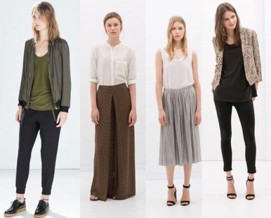 Abbigliamento Zara autunno inverno 2014 2015