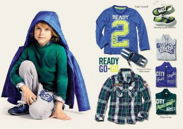Benetton abbigliamento bambini 2014 2015