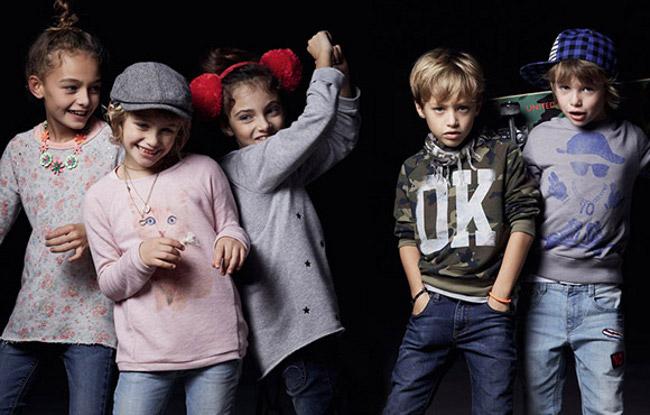 Benetton abbigliamento bambini autunno inverno 2014 2015
