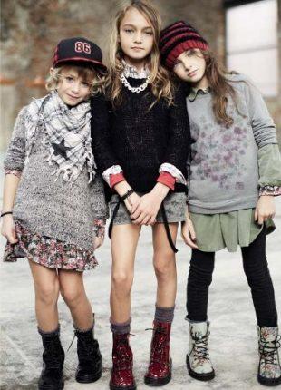 74d17951a2 Benetton abbigliamento bambini autunno inverno - Moda Bambino ...
