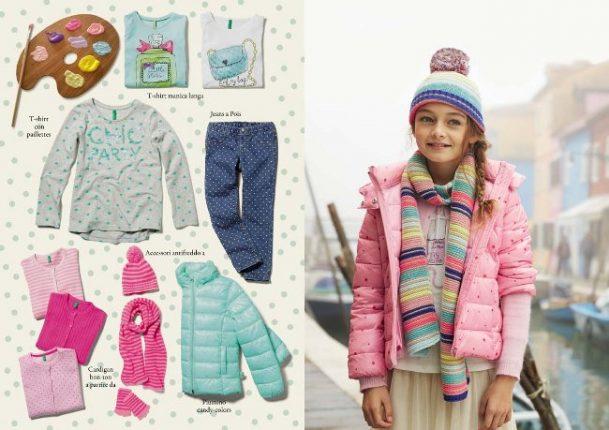 Benetton bambini autunno inverno 2014 2015