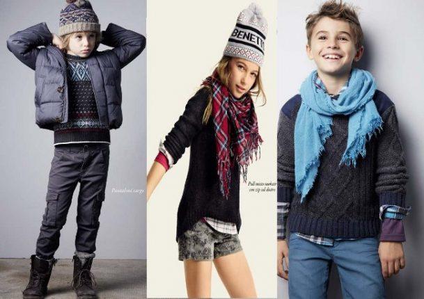 Benetton bambini inverno 2014 2015