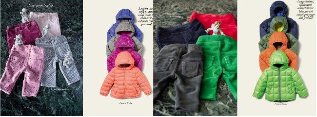 Benetton giubbotti bambini autunno inverno 2014 2015