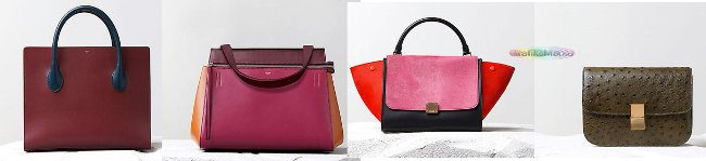 Borse Celine collezione autunno inverno 2014 2015