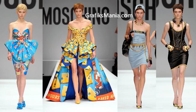 Collezione Moschino abbigliamento donna 2014 2015