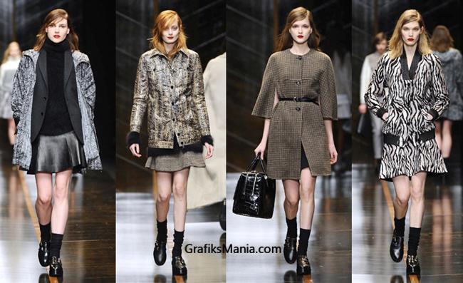 Collezione Trussardi abbigliamento donna  2014 2015
