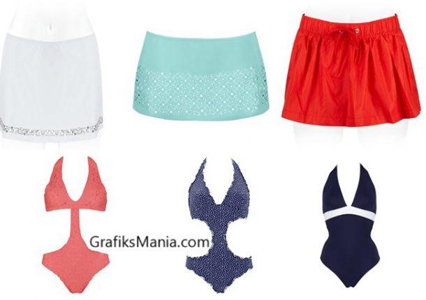 Costumi interi Sisi estate moda mare