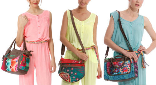 Desigual bags fall winter 2014 2015