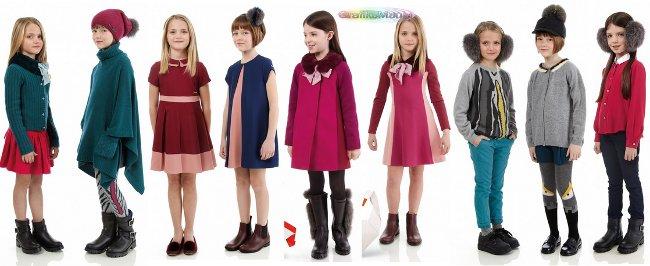Fendi Kids autunno inverno 2014 2015