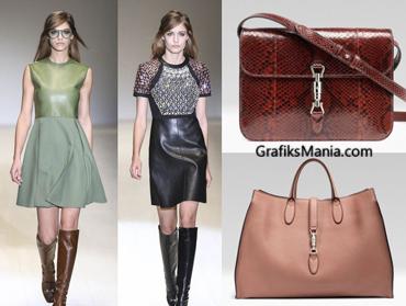 Gucci autunno inverno 2014 2015 abbigliamento donna